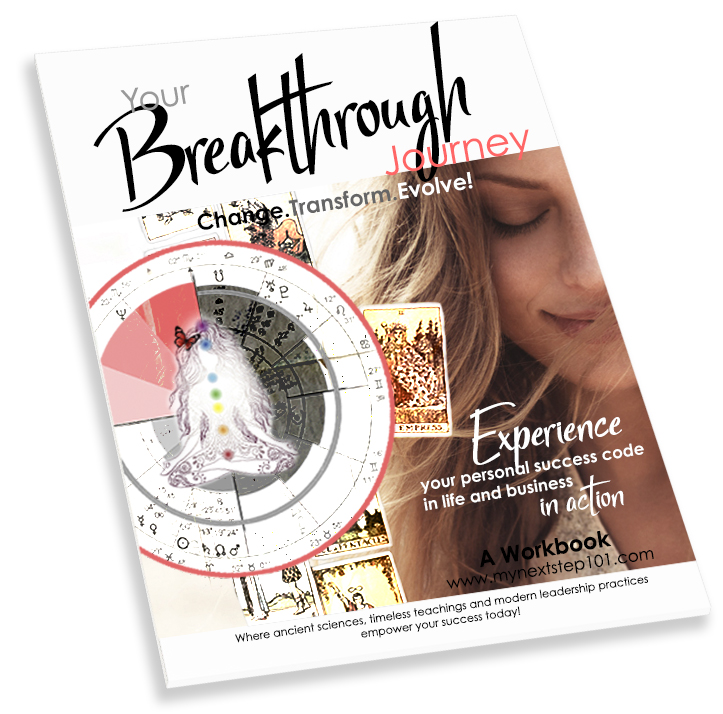 'Your Breakthrough Journey' Workbook for the 'My Next Step 101' program.